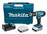 Makita HP457DWE10 Akku- Schlagbohrschrauber-Set...