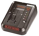 Black+Decker Multivolt-Schnellladegerät (für 14,4V Li-Ionen, 1Ah und 18V, 1Ah...