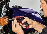 Einhell Akkuschrauber TE-SD 3,6/1 Li (Li-Ion, 3.6 V, 4.5 Nm Drehmoment, Micro-USB-Lader, Magnetbithalterung, LED-Beleuchtung, Softgrip, inkl. 10-teiliges Bit-Set + hochwertige Metallbox)