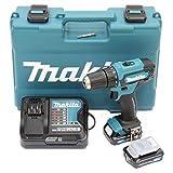 Makita DF333DSAE Akku-Bohrschrauber 12 V max. / 2,0 Ah, 2 Akkus + Ladegerät im...
